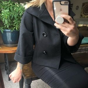 Dress coat | thick and cropped